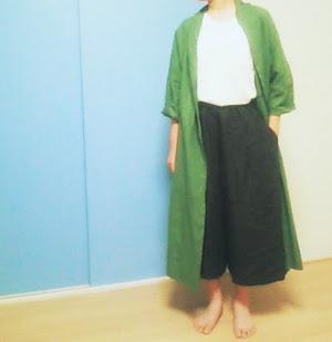 わたしがリネンのキュロットスカートを8900円にしたのは・・・。