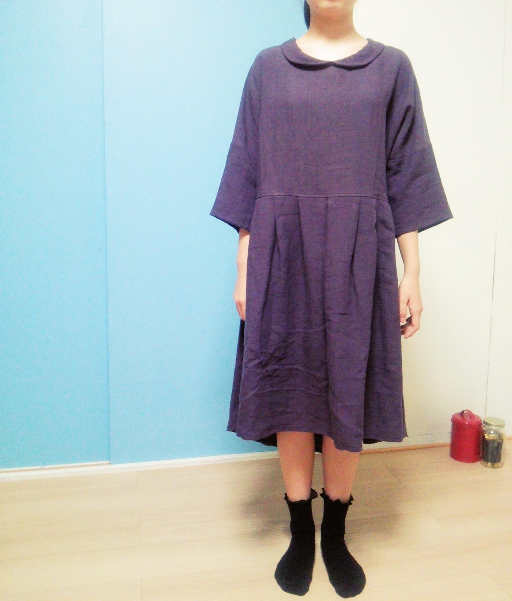 ロイヤルブルーのロングスカート販売はじめました。