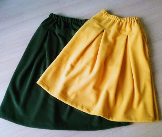 寒い日のお出かけは、あったかスカートで。冷えを近づけない。
