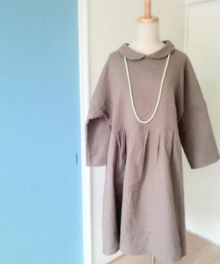 ガーゼ好きのための『冬のガーゼお洋服』