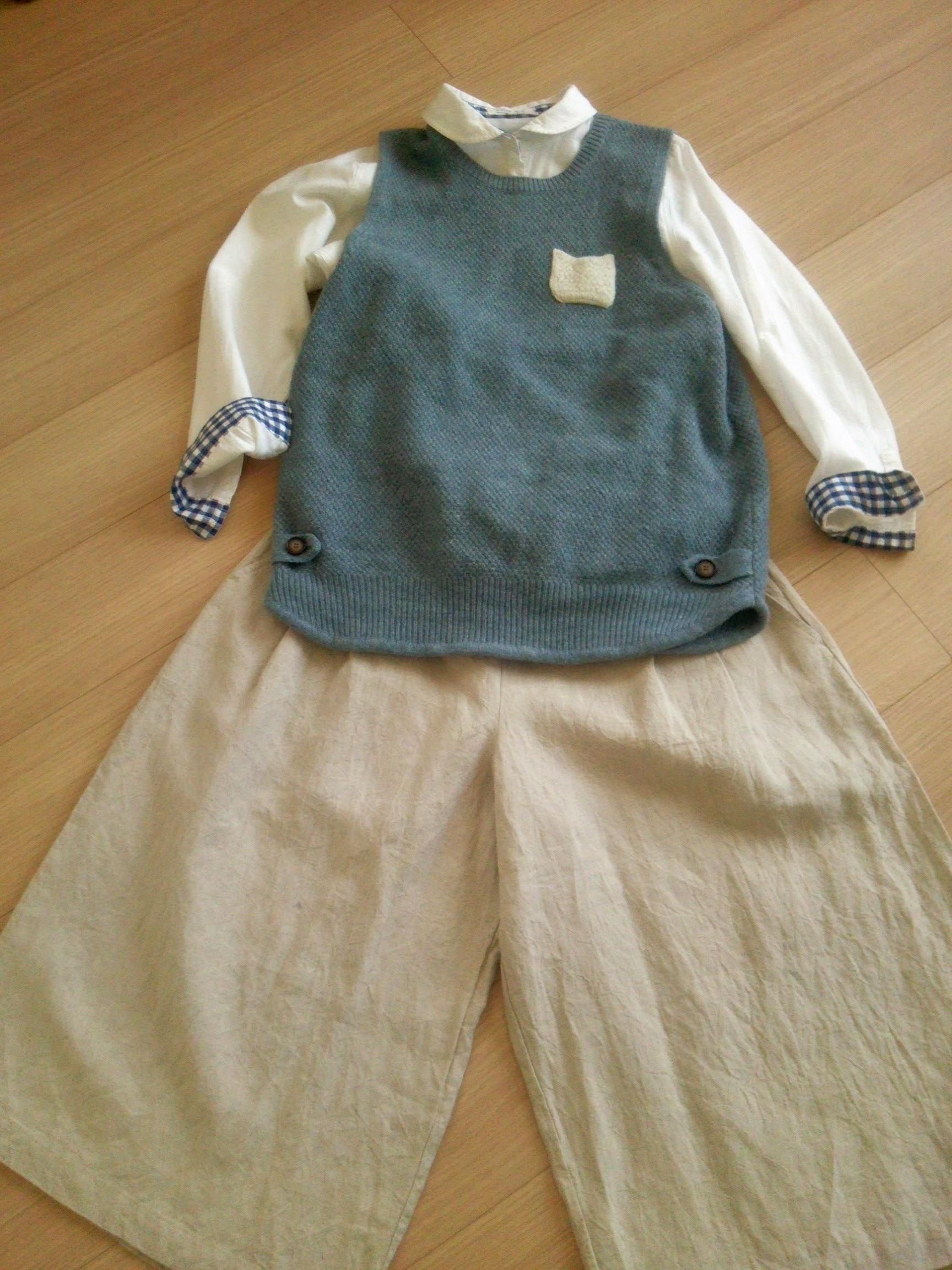 今年も縫います。リネン服。リネンキュロットスカートやリネンワンピース。