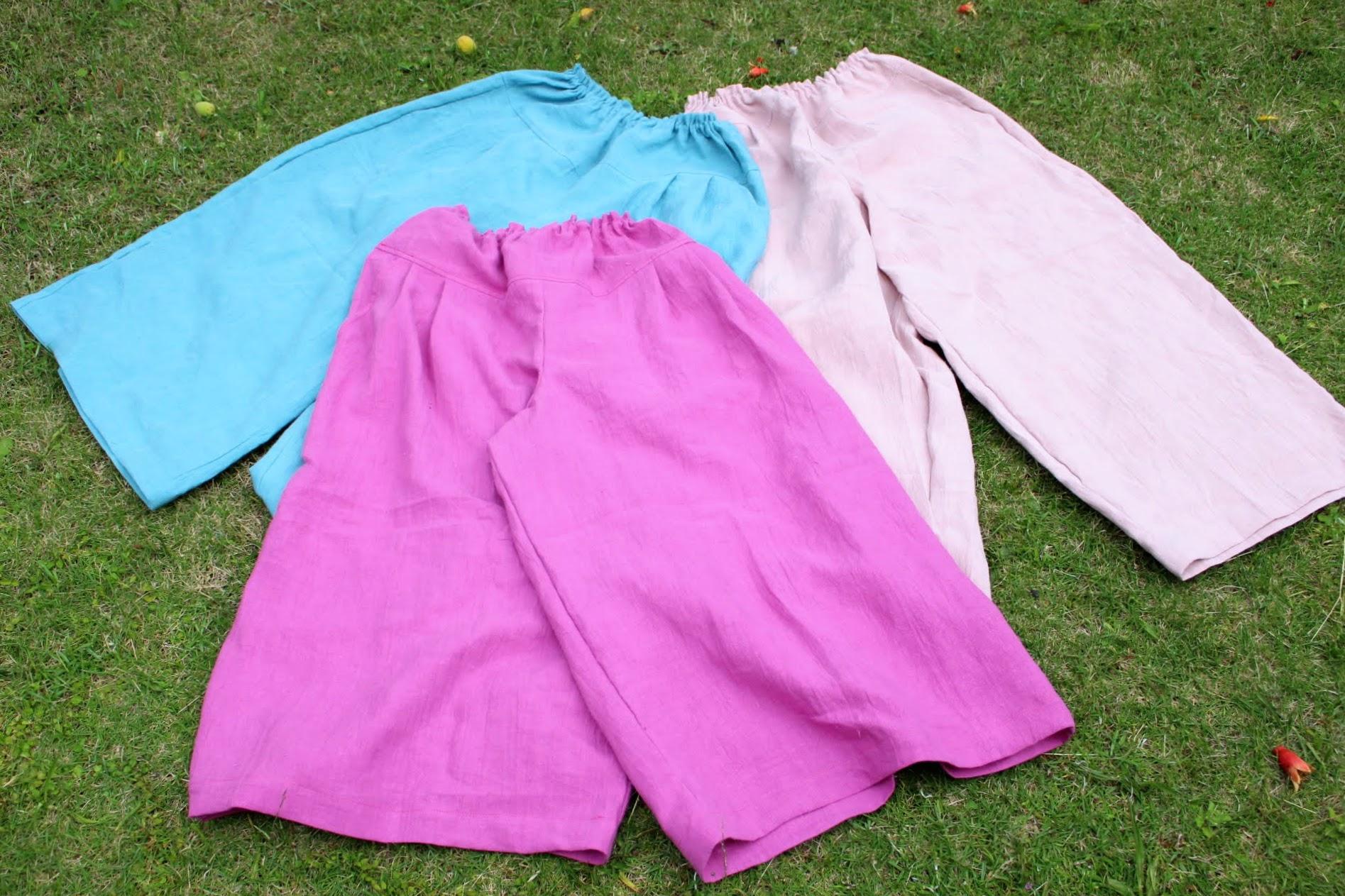 2種類のピンク色もターコイズブルーもこれからの季節にぴったり。