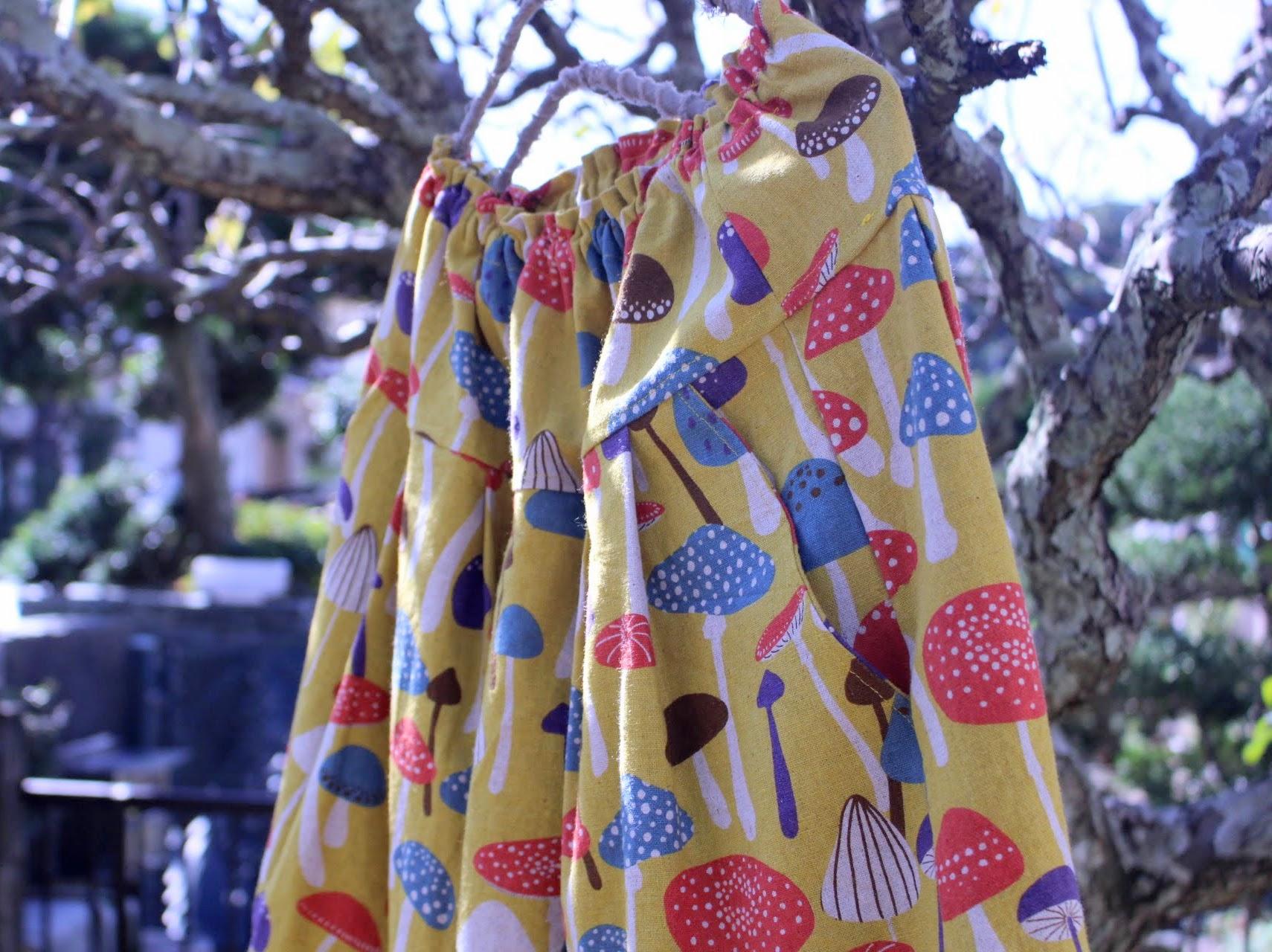 この秋は、マスタード色のお洋服が人気ですね。
