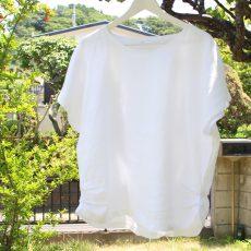 「リネンのお洋服はお家で洗えますか?」お手入れについて。