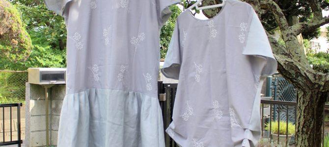 真夏のお洋服は、大人の素敵をプラスしてみました。