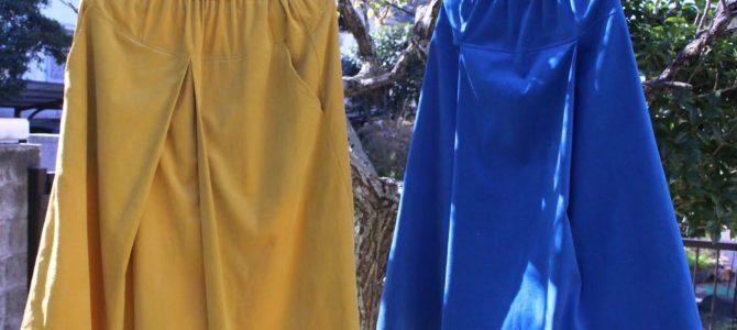 広がらないスカートってありますか?